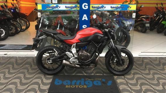 Yamaha Mt 07 2016 Vermelha Impecável