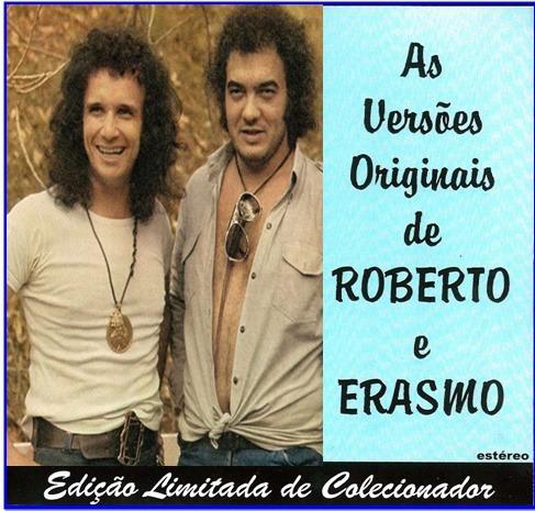 Cd - Versões Originais De Roberto Carlos & Erasmo Carlos