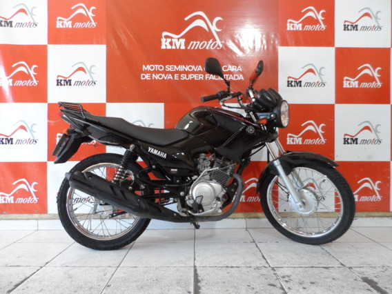 Yamaha Ybr 125 Factor K1 2016 Preta