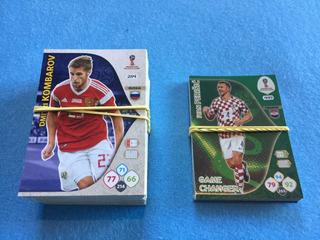 114 Cards Panini Adrenalyn Xl Importados Fifa 2018 World Cup