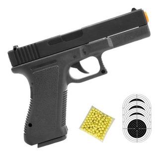 Pistola Airsoft Glock 17 Spring Vigor Gk V307 6mm