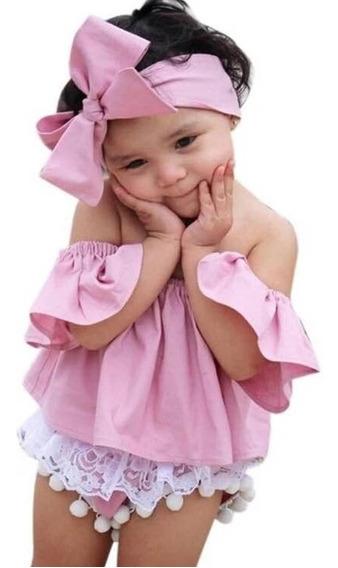 Blusas Para Niña Sin Hombros