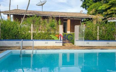 Chácara Com 3 Dormitórios, 1.600 M² Por R$ 535.000 - Vale Do Atibaia I - Piracaia/sp. - Ch0128