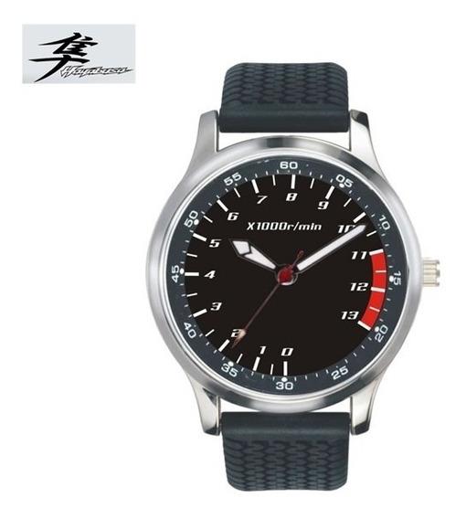 Relógio Motociclista Cst Racer Suzuki Hayabusa Rpm - Preto