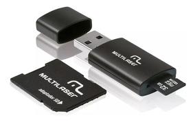 Cartão De Memória Micro Sd 32gb Classe 10 Com 2 Adaptadores