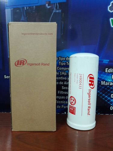 Elemento Filtrante 24900433 Para Compresor Ingersoll Rand