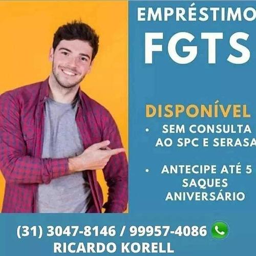 Imagem 1 de 2 de Antecipe O Seu Fgts!