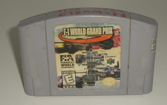 F1 World Grand Prix Original Nintendo 64 Usada