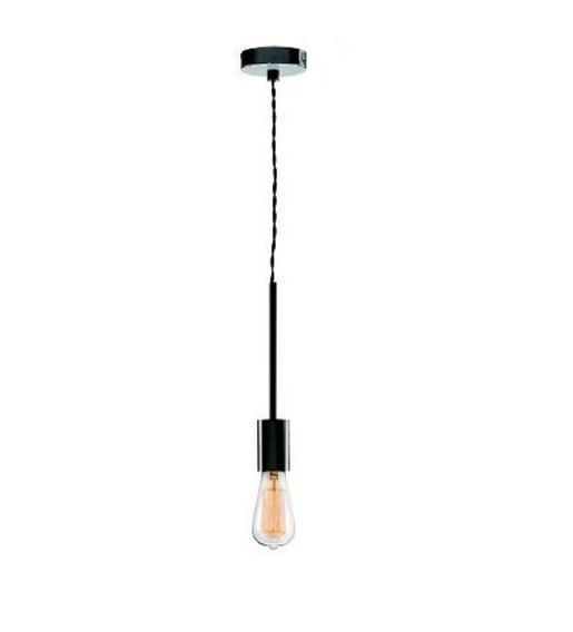 Luminária Lustre Pendente Soquete Cilíndrico 5 Cm Mart