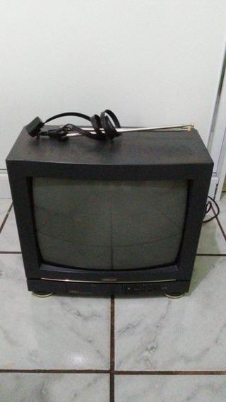 Tv 14 Samsung Bivolt Cn3355z Funcionando