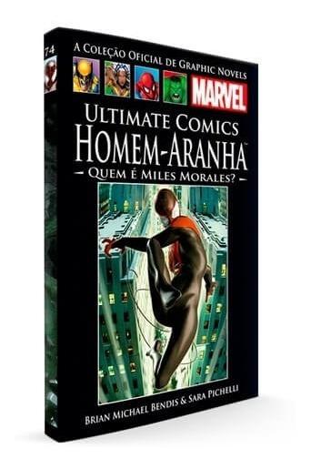 Kit Coleção Oficial Hq Graphic Novels Marvel 3 Volumes