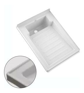 Kit Lavadero Plástico De 60*46 Cm + Válvula
