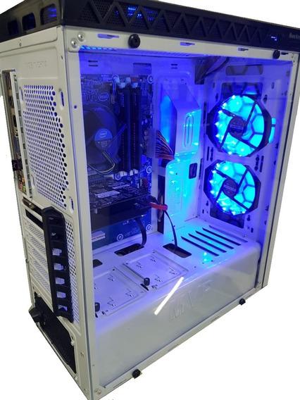 Pc Cpu Gamer Core I5 3470 3.6gh 8gb Ssd 240gb Fonte 500