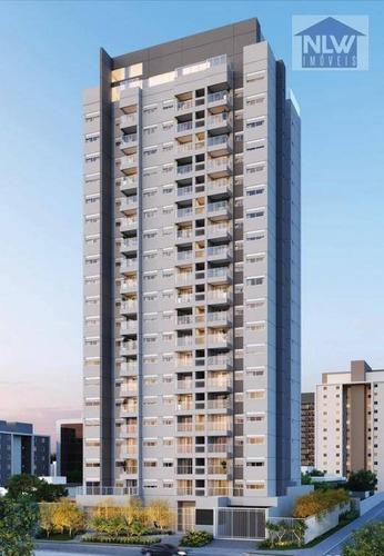 Apartamento Com 2 Dormitórios À Venda, 72 M² Por R$ 1.143.980,00 - Chácara Santo Antônio (zona Sul) - São Paulo/sp - Ap1712