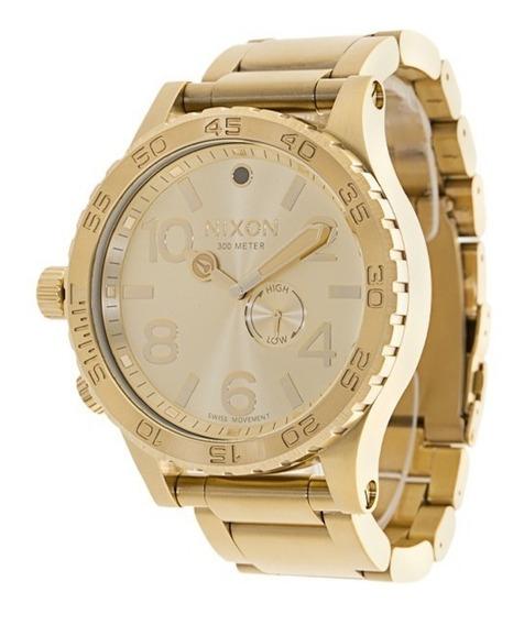 Relógio Nixon 48-20 Chrono A486 502 Inteiro Dourado