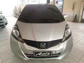 Honda Fit 1.4 Cx Automatico Prata 2014 Com Multimidia