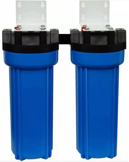 Ablandador Y Filtro De Agua Doble Para Aguas Muy Duras Caño