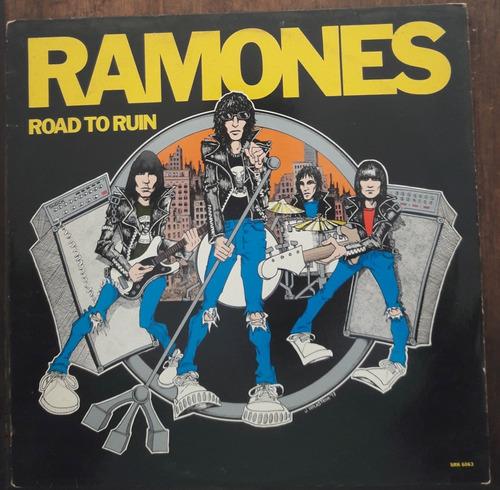 Vinil Vg+ Ramones Road To Ruin 1a Ed Us Sire 1978 Srk 6063