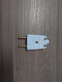 Kit 16x Plugue Pino Macho 2pinos 10a Modelo Antigo Mectronic