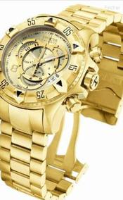 Relógio Invicta Excusion Gold Dourado