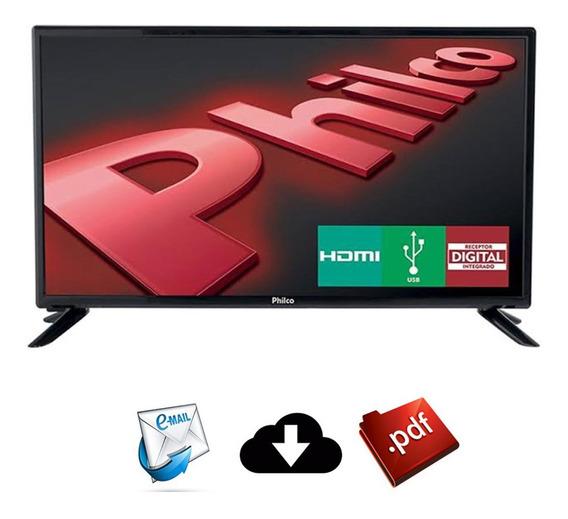 Pacote Com 137 Esquemas Elétricos Tvs Philco Led Lcd Plasma
