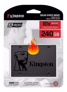 Disco Rigido Ssd Solido Kingston 240gb A400 550mbs Martinez