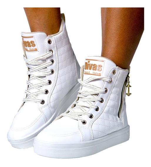 Tênis Sneaker Divas Bota Treino Academia Fitness