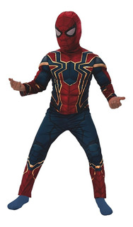 Disfraz Spiderman Iron Spider Hombre Araña - Envío Gratis