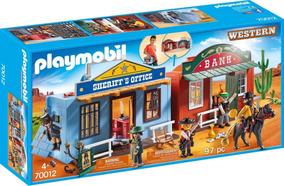 a28bab6ad Playmobil Maleta Western City 4398 - Playmobil no Mercado Livre Brasil