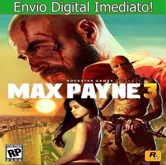 Max Payne 3 Pc Hd Envio Imediato.