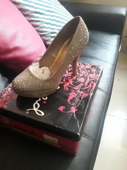 Zapatos De Fiesta Para Dama Talla 37 5 Vrds