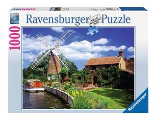 Puzzle 1000 Pintoresco Molino De Viento- Ravensburger 157860