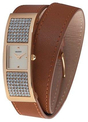 Relógio Orient Feminino Lgsc0013 C1mx Couro