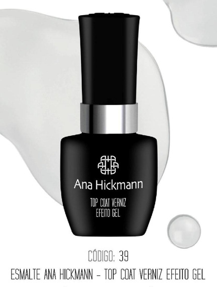 Top Coat Verniz Ana Hickmann Efeito Gel