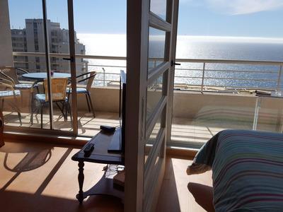 Amoblado Depto Reñaca Maravillosa Vista Al Mar !!!