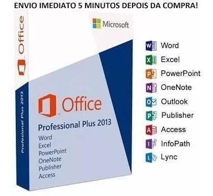 Oficce# 2013 Proffessional Pllus Licença Orginal C Garantia