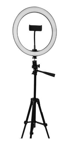 Imagen 1 de 3 de Lampara Aro De Luz Led De 26 Cm Ajustable Maquillaje Fotos