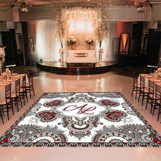 Pista De Dança Para Casamento Arabia Árabe Ps31 - 5x5m