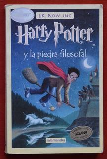 Libro, Harry Potter Y La Piedra Filosofal