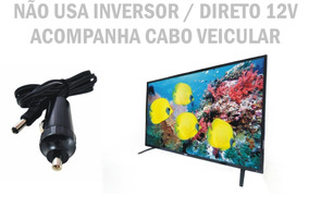 Tv Digital 24 P 12 V Digital 12 Volts Trailer Caminhao Barco