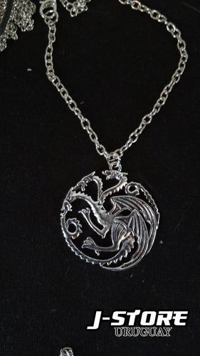Collar De Game Of Thrones - Casa Targaryen