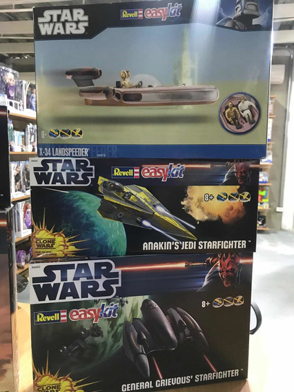 Naves A Escala Star Wars Marca Revell Easy Kit