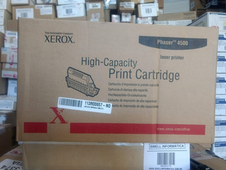 Toner Xerox Phaser 4500 - 113r00657 - Novo - Original