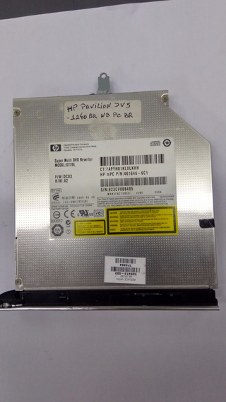 Dvd Super Multi Dvd Rewriter Gt20l - Hp Dv5 1240 Br