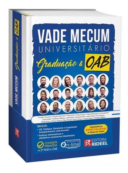 Vade Mecum Universitario Graduacao E Oab - Rideel