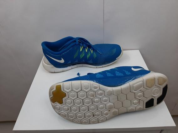 Tênis Nike Azul Original, Tamanho 37