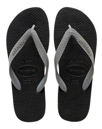Ojotas Havaianas - Modelo Color Mix Negro/gris