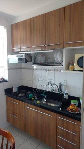 Apartamento Com 1 Dormitório À Venda, 44 M² Por R$ 185.500,00 - Maracanã - Praia Grande/sp - Ap12111