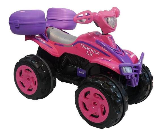 Moto Eléctrica Prinsel Tracker Xl Girl 6v