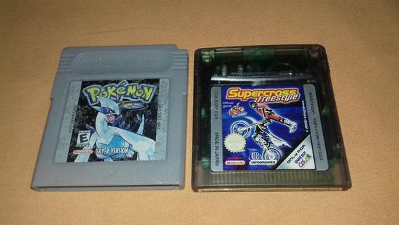Pokémon Silver Autêntico!! Game Boy Advance! Game Boy Color!